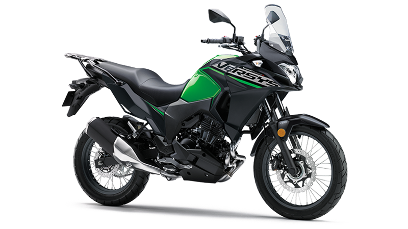 VERSYS-X 300 - CANDY LIME GREEN / METALLIC FLAT SPARK BLACK