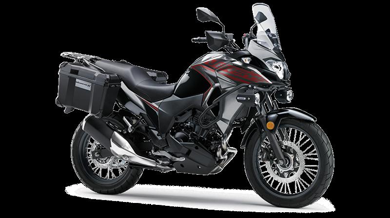 VERSYS-X 300 TOURER - METALLIC GRAPHITE GRAY / METALLIC SPARK BLACK