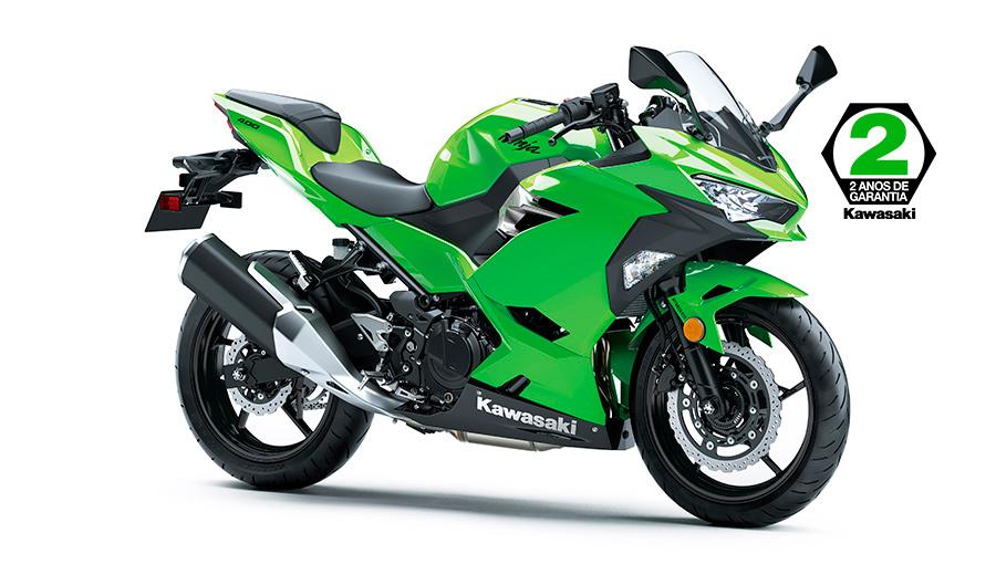 NINJA 400 - Lime Green