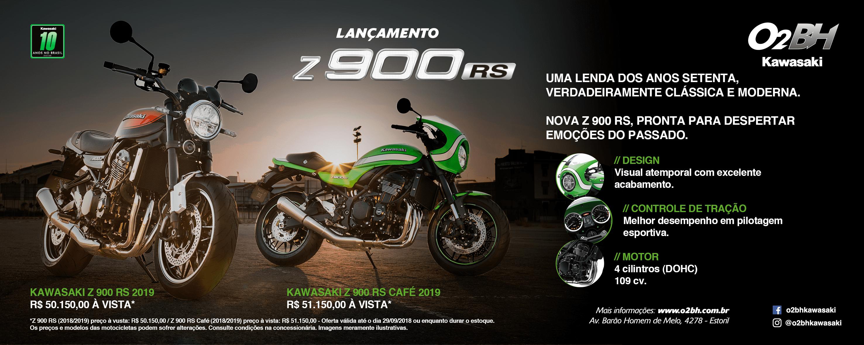Lançamento z900R