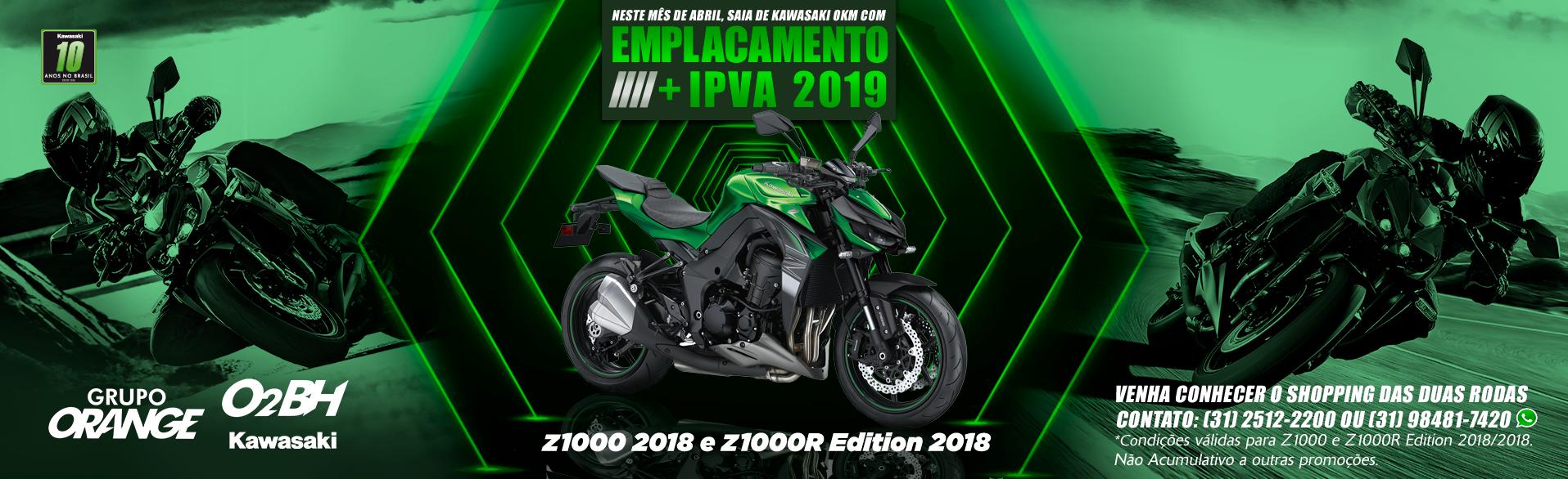 Z1000 e Z1000R Edition