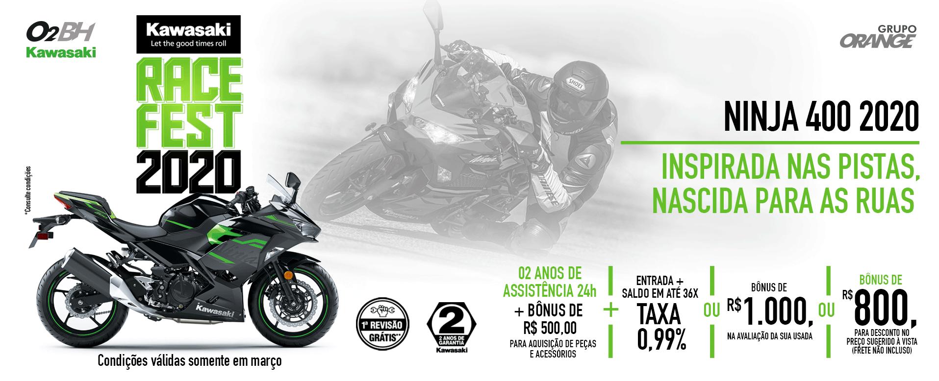 Ninja 400 2020