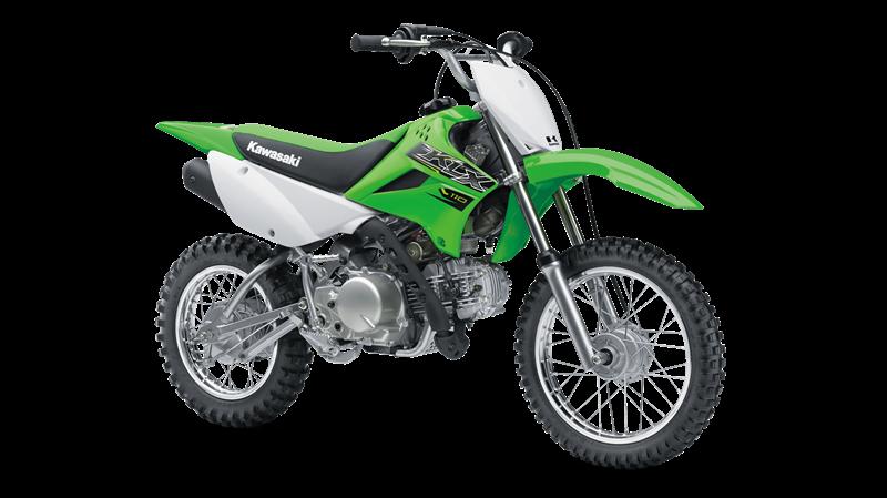 KLX 110 - LIME GREEN